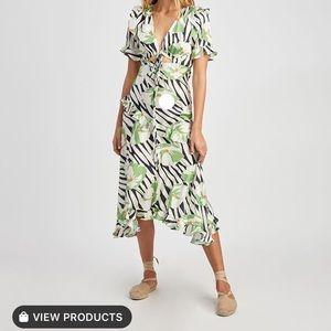 Jill Stuart 🌴 tropical  Estelle dress